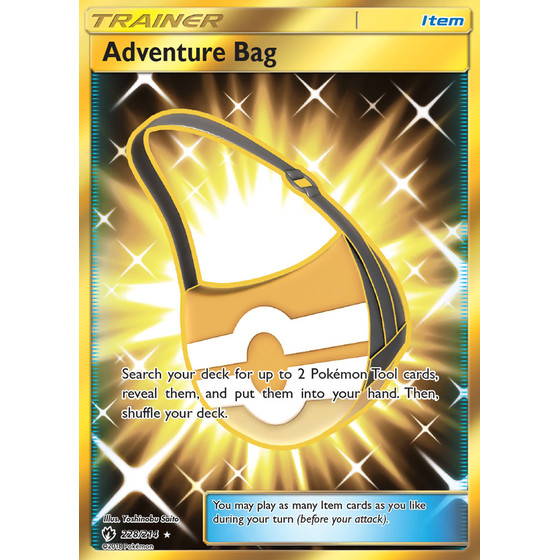 Adventure Bag - 228/214 - Secret Rare