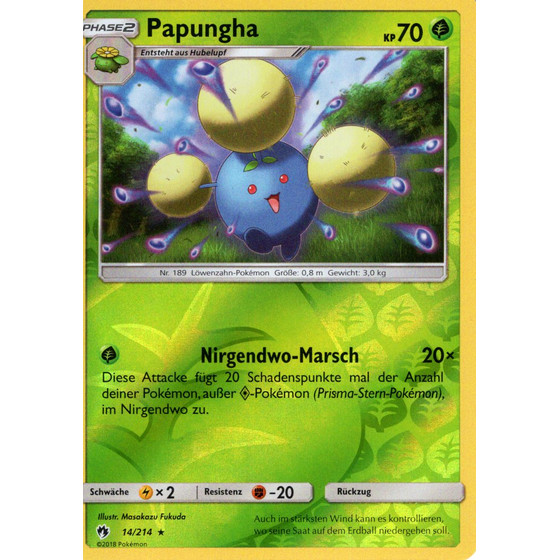 Papungha - 14/214 - Reverse Holo
