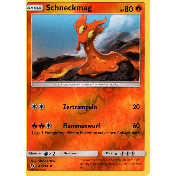 Schneckmag - 43/214 - Reverse Holo