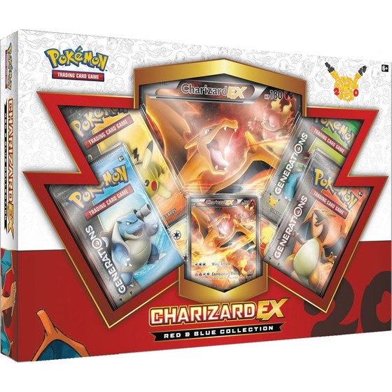 Red & Blue Collection - Charizard EX