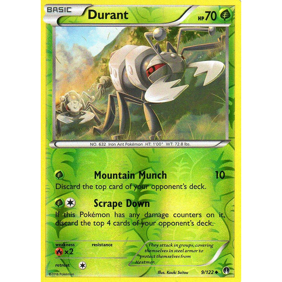 Durant - 9/122 - Reverse Holo