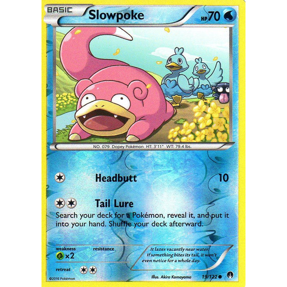 Slowpoke - 19/122 - Common