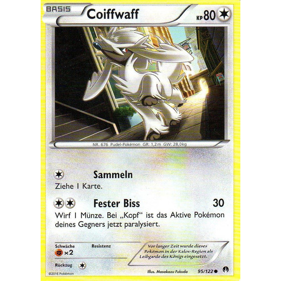Coiffwaff - 95/122 - Reverse Holo