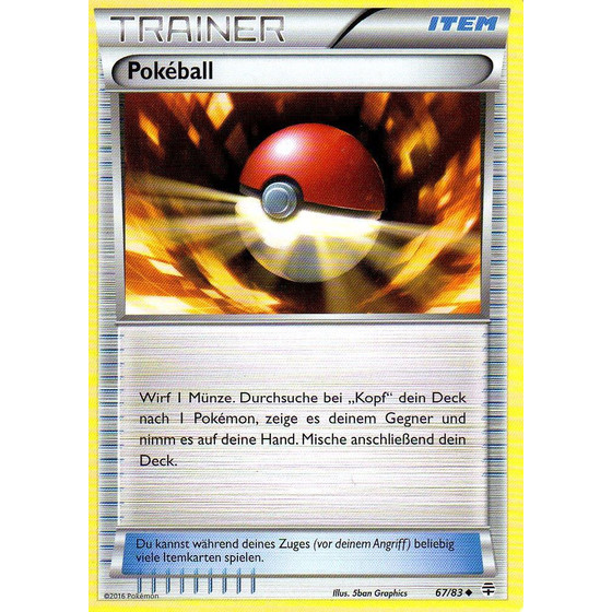 Pokeball - 67/83 - Reverse Holo