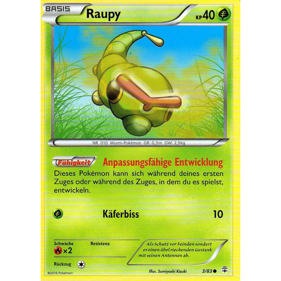 Raupy - 3/83 - Common