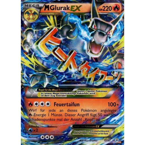 Pokemon Karten Mega Glurak Ex.M Glurak Ex 12 83 Ex