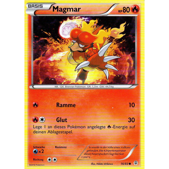 Magmar - 16/83 - Common