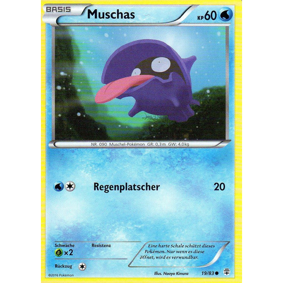 Muschas - 19/83 - Common