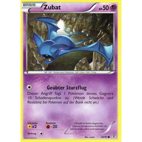 Zubat - 30/83 - Common