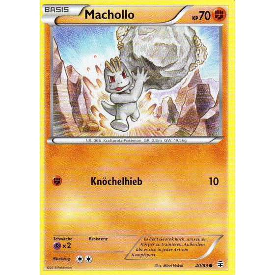 Machollo - 40/83 - Common