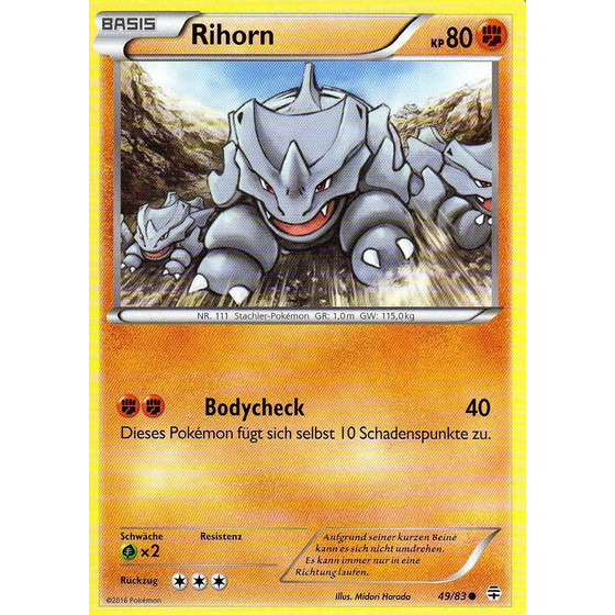 Rihorn - 49/83 - Common