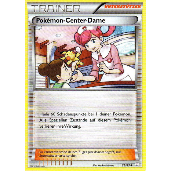Pokemon-Center-Dame - 68/83 - Uncommon