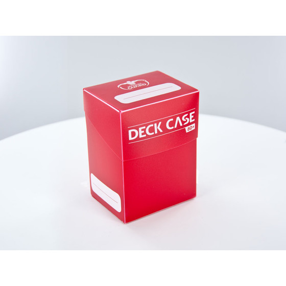 Ultimate Guard - Deck Case 80+ Rot