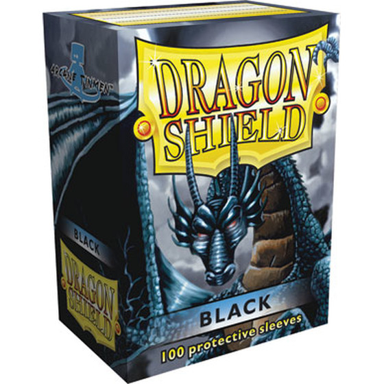 Dragon Shield Black - 100 Sleeves