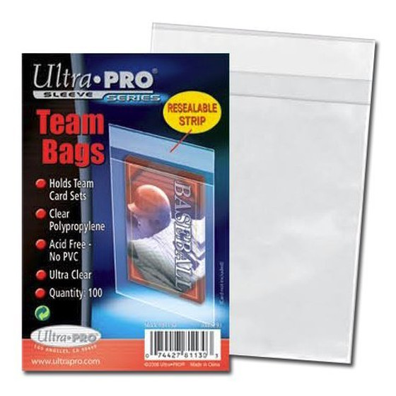 Ultra Pro Team Bags - 100 Sleeves