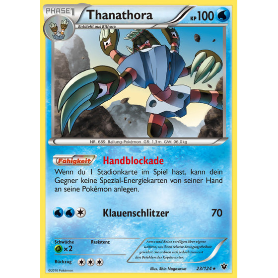 Thanathora - 23/124 - Reverse Holo