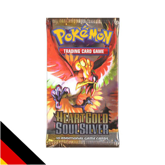 Pokemon Heart Gold & Soul Silver Booster Deutsch
