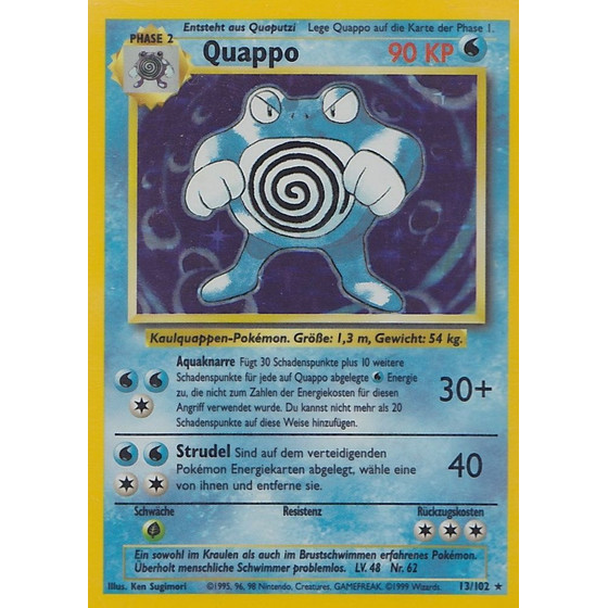 Quappo - 13/102 - Holo - Played