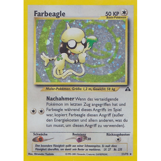 Farbeagle - 11/75 - Holo - Good