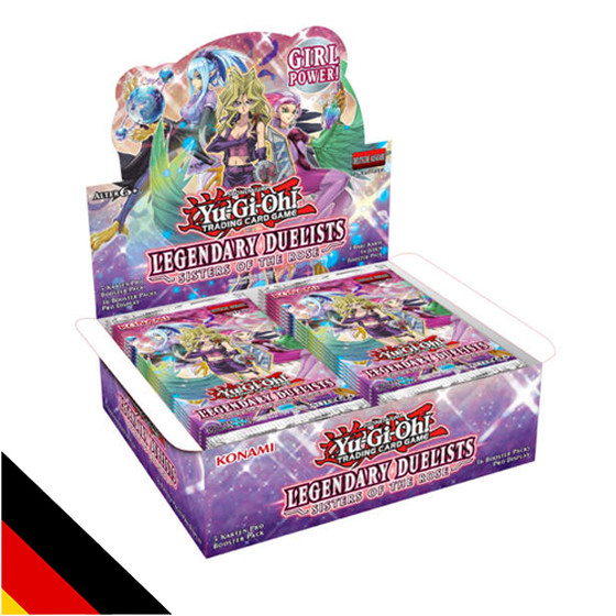 Legendary Duelists: Sisters of the Rose Display (36...