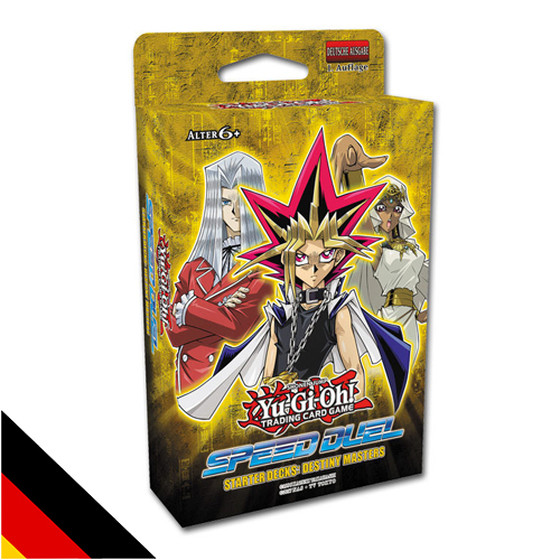 Speed Duel Starter Deck Destiny Masters Deutsch