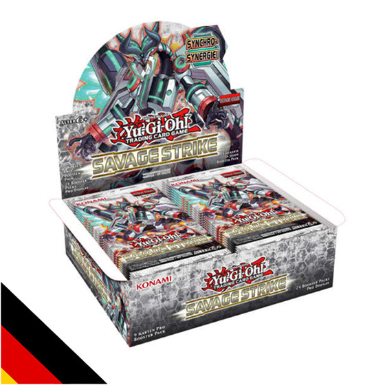 Savage Strike Display (24 Booster) Deutsch