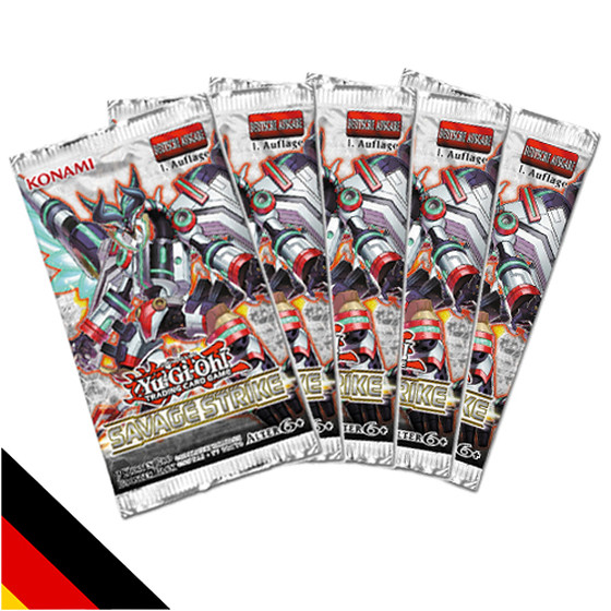 5x Savage Strike Booster Deutsch