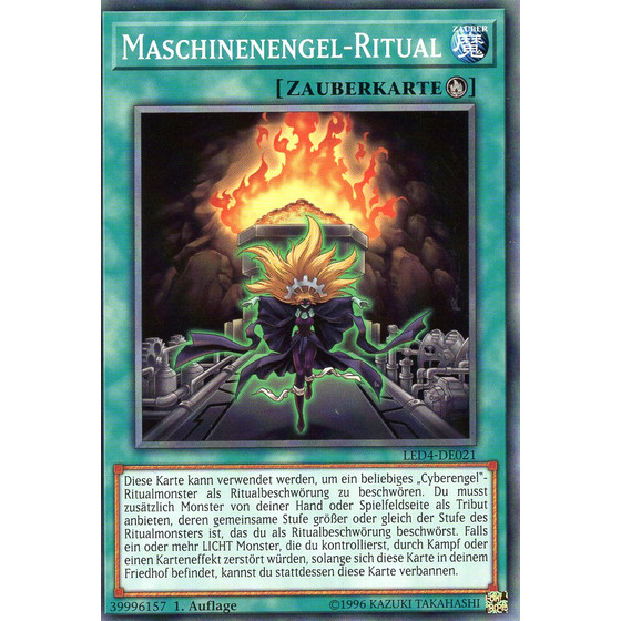 Maschinenengel-Ritual - LED4-DE021 - Common