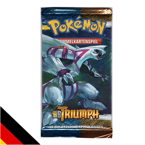 Pokemon HS Triumph Booster Deutsch