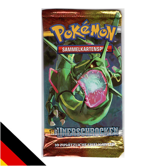 Pokemon HS Unerschrocken Booster Deutsch