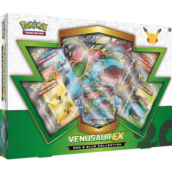 Red & Blue Collection - Venusaur EX