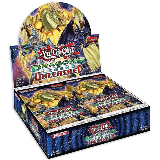 Dragons of Legend Unleashed Display Deutsch (24 Booster)