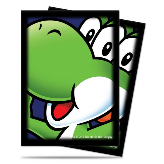 Ultra Pro Deck Protector Sleeves Yoshi - 65 Sleeves