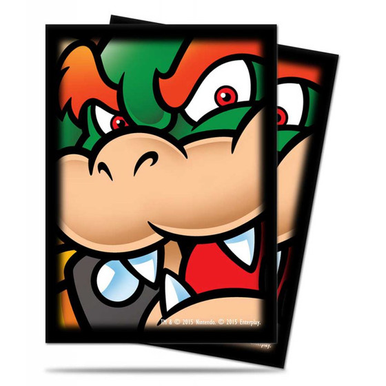 Ultra Pro Deck Protector Sleeves Bowser - 65 Sleeves