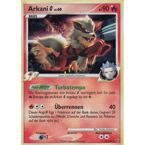 Arkani G - 15/147 - Theme Deck Holo