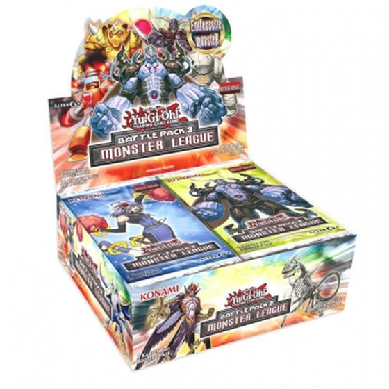 Battle Pack 3 - Monster League Display Deutsch (36 Booster)