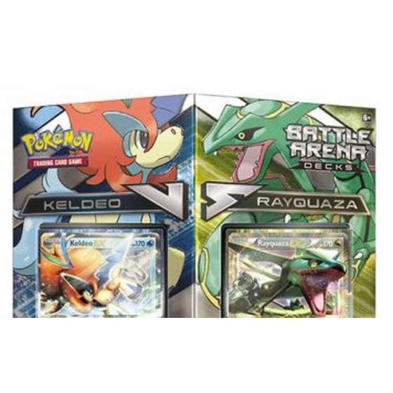 Battle Arena Decks Keldeo vs Rayquaza