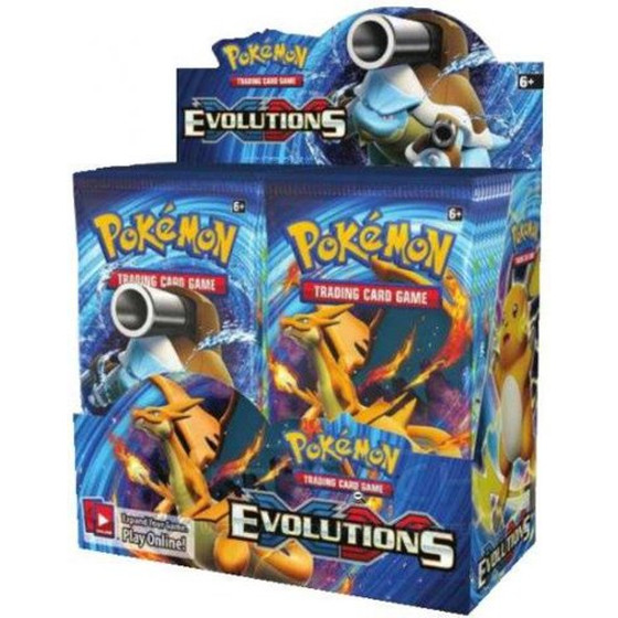 XY12 Evolutions Display (Englisch)