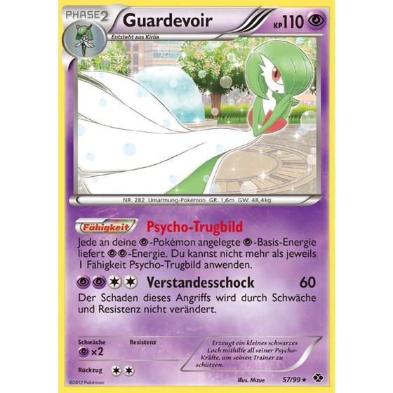 Guardevoir - 57/99 - Holo