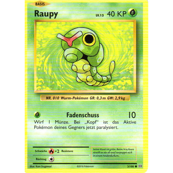 Raupy - 3/108 - Common