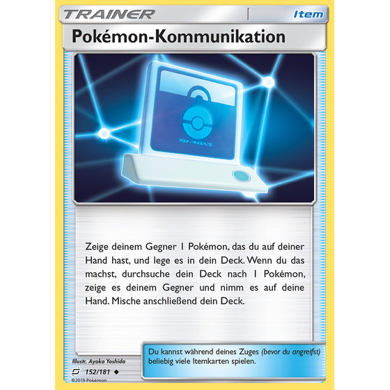 Pokemon-Kommunikation - 152/181 - Uncommon