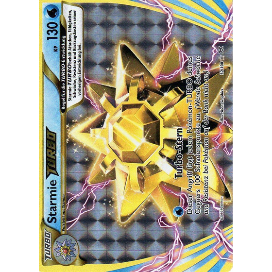 Starmie TURBO - 32/108 - Break