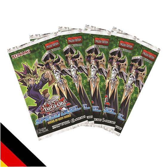 5x Speed Duel: Arena of Lost Souls Display Booster (Deutsch)