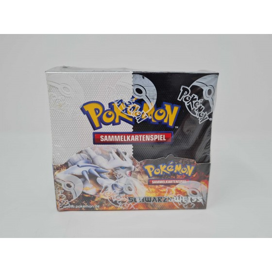 Pokemon Schwarz & Weiß Display Deutsch - OVP/Sealed - 36...