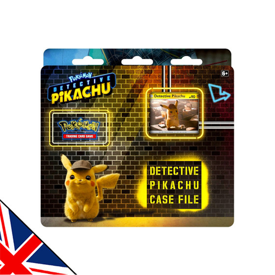 Pokemon Detective Pikachu Case File Pikachu (2-Pack Blister)