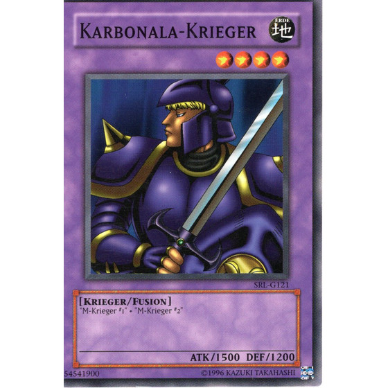 Karbonala-Krieger - SRL-G121 - Common - Good