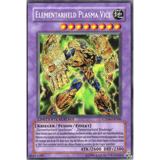 Elementar-HELD Plasma Vice - CT04-DE006 - Secret Rare - Good