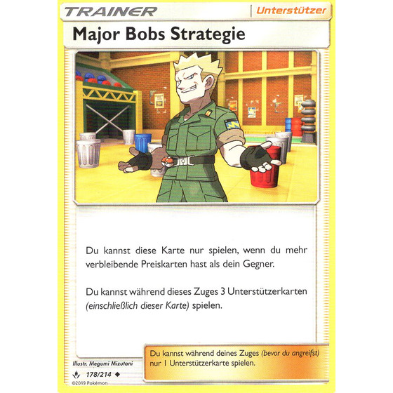 Major Bobs Strategie - 178/214 - Uncommon