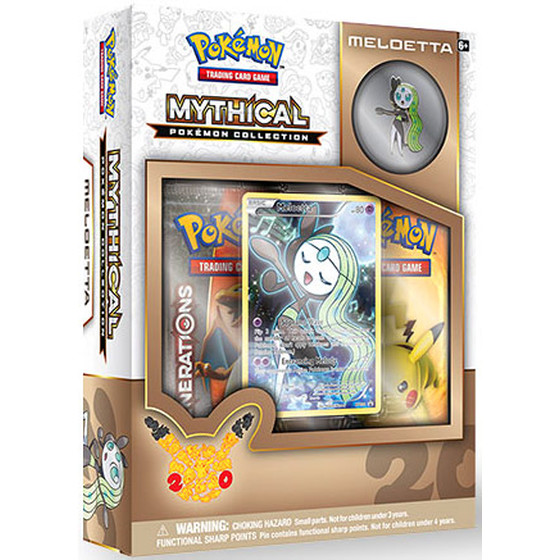 Mythical Pokemon Collection - Meloetta