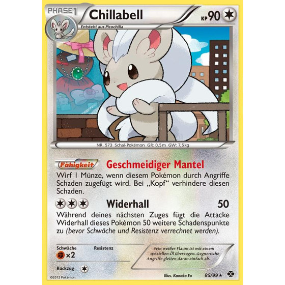 Chillabell - 85/99 - Holo